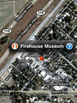 Firehouse Museum Map